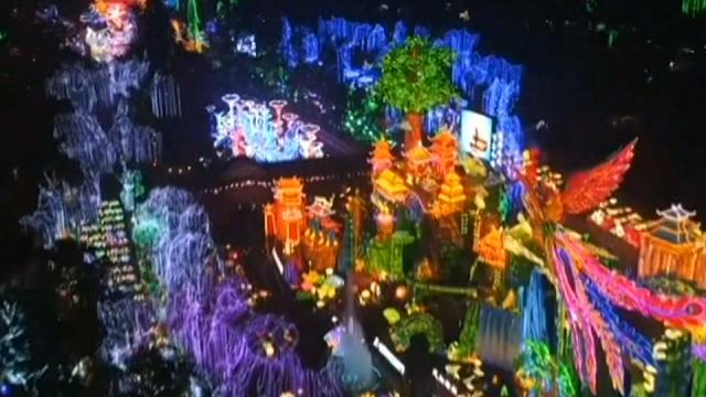 Intricate light show marks Chinese New Year in Zigong