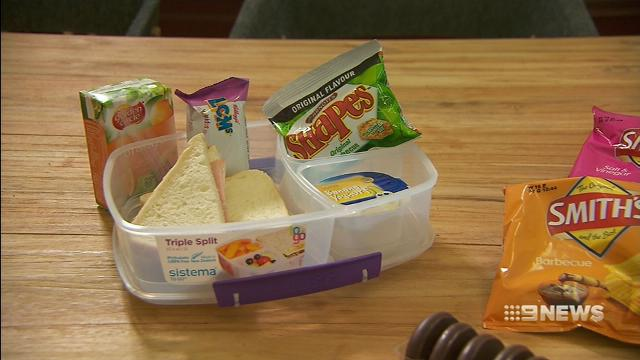 VIDEO: School lunchboxes filled with sugar