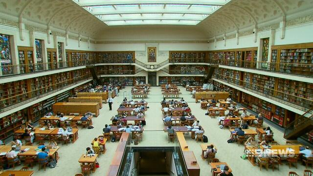 VIDEO: Sydney's Mitchell Library gets a $15 million facelift