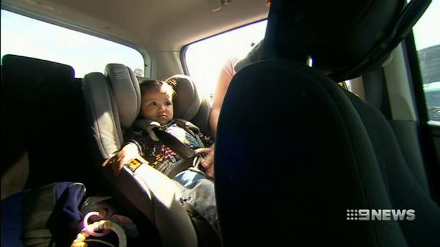 VIDEO: Parents continue to leave kids in cars on hot days