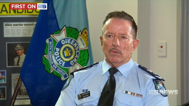 VIDEO: One of Queensland's top cops chats to 9NEWS with nothing off-limits