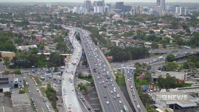 VIDEO: New section of M4 to open for Sydney drivers