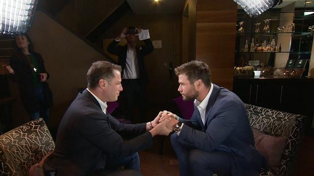 TODAY Exclusive: Karl meets Chris Hemsworth
