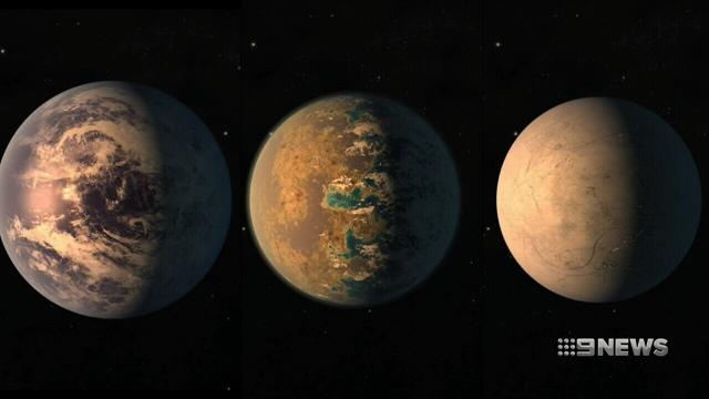 NASA astronomers discover solar system with seven earth-like planets