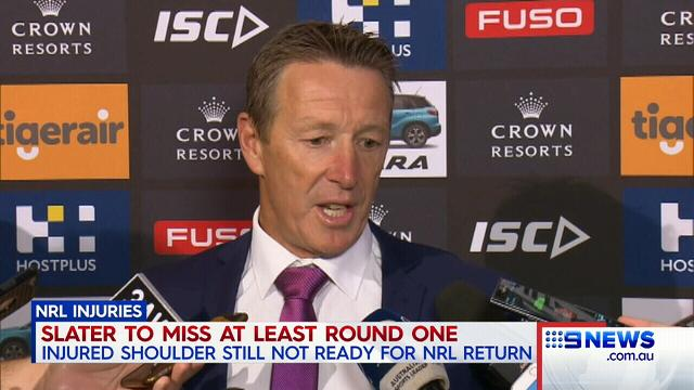 Doubts over Slater return