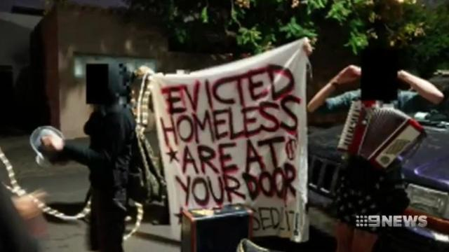 VIDEO: Melbourne Lord Mayor slams mob of activists who demonstrated outside family home