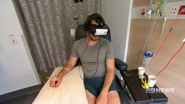 VIDEO: Sydney cancer centre offers patients a virtual reality escape
