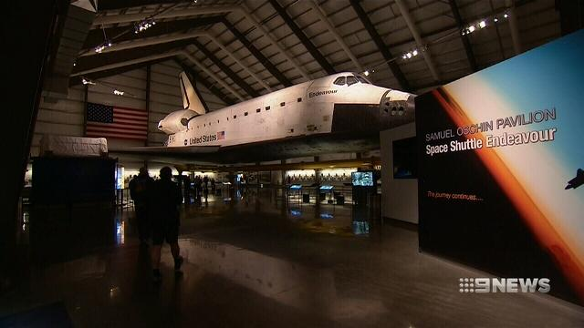 VIDEO: Inside Space Shuttle Endeavour's new home