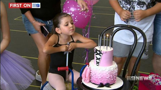 VIDEO: Dreams come true for aspiring ballerina with chronic illness