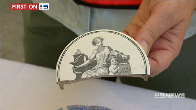 VIDEO: Archaeologists uncover Melbourne treasure trove