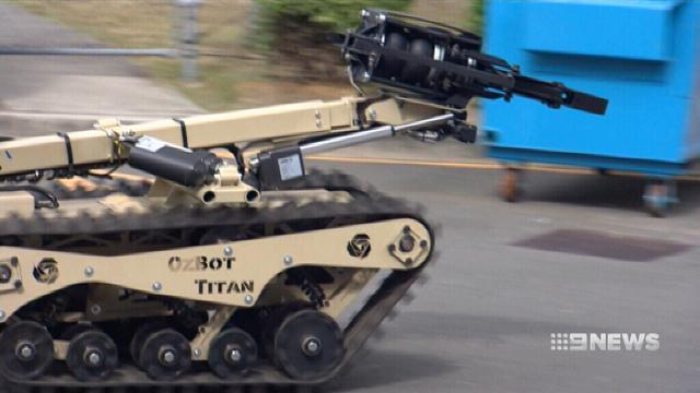 VIDEO: Queensland Police unveil 'Robocop'