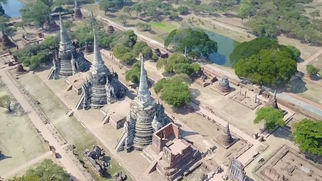 Incredible drone footage shows the diversity of Asia's skylines
