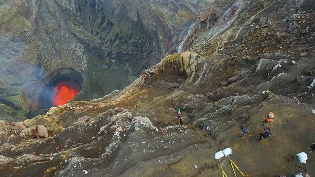 Now you can go into the heart of an erupting volcano with Google Street View