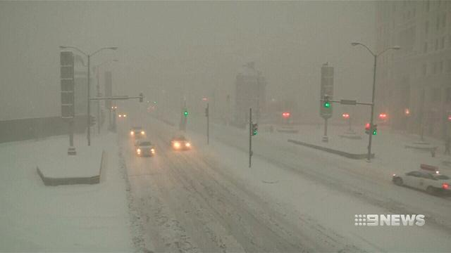 VIDEO: United States in a spin as blizzard blasts through