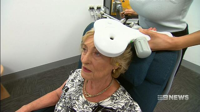 VIDEO: Magnetic therapy helping clear the minds of Alzheimer's patients