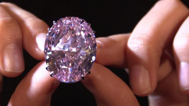 9RAW: Pink diamond could become most expensive ever at auction