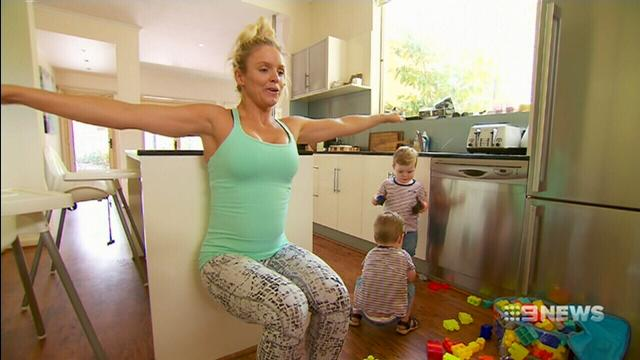 VIDEO: Busy Melbourne mums squeeze in time to work out