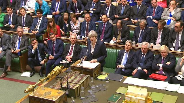 9RAW: Theresa May announces Britain's decision to depart EU