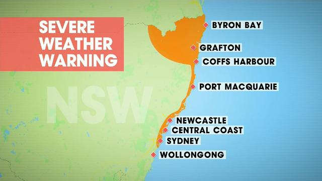 Cyclone Debbie aftermath: East coast drenching