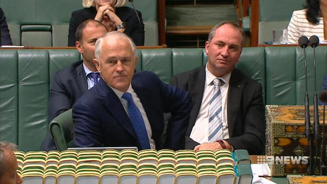 VIDEO: Government scrambles to push through company tax cuts