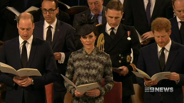 VIDEO: Westminster comes together to grieve