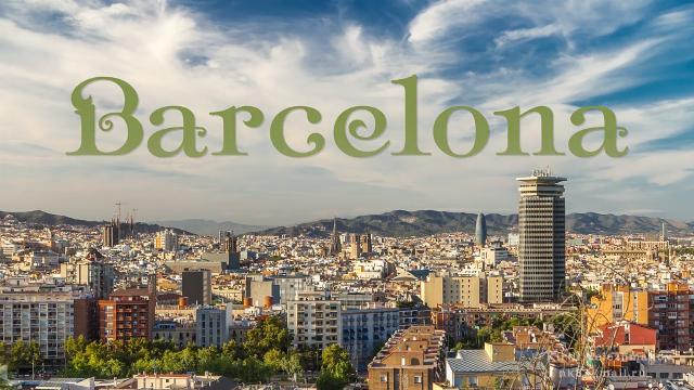 Amazing time-lapse footage of Barcelona