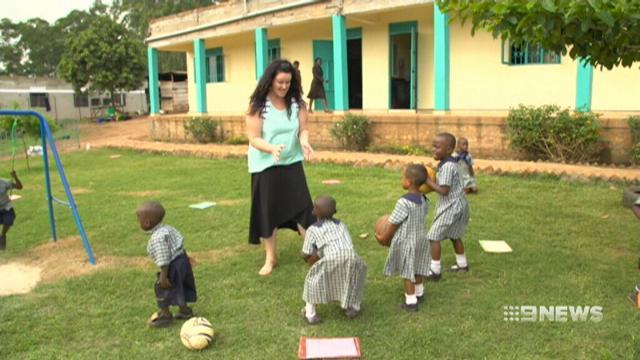 VIDEO: Gold Coast teacher survives against the odds in Uganda