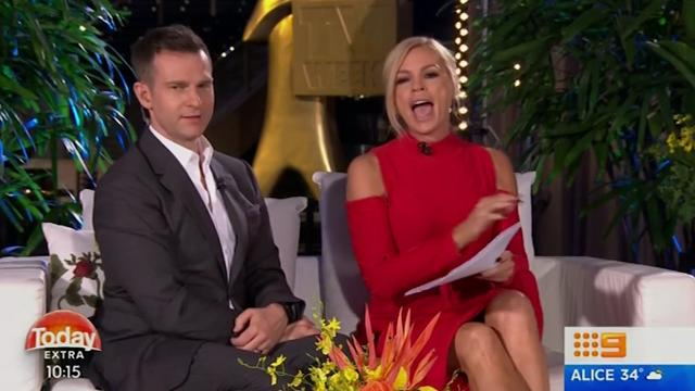 Sonia Kruger caught Sam Frost doing a post-Logies 'walk of shame' at 6.41am