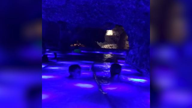 You can swim underground in this river in Mexico