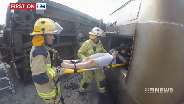 VIDEO: Queensland emergency services prepare for terror attack