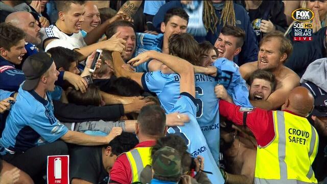 Sydney FC win A-League grand final in penalty shootout