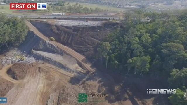 VIDEO: Toowoomba's billion-dollar bypass starts to take shape