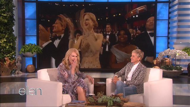 Nicole Kidman explains that Oscars clap