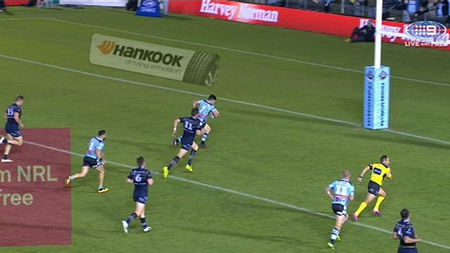 Sharks hit back through Townsend