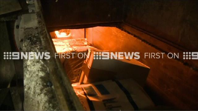 AFP burns more than $1 billion of seized drugs at secret NSW facility