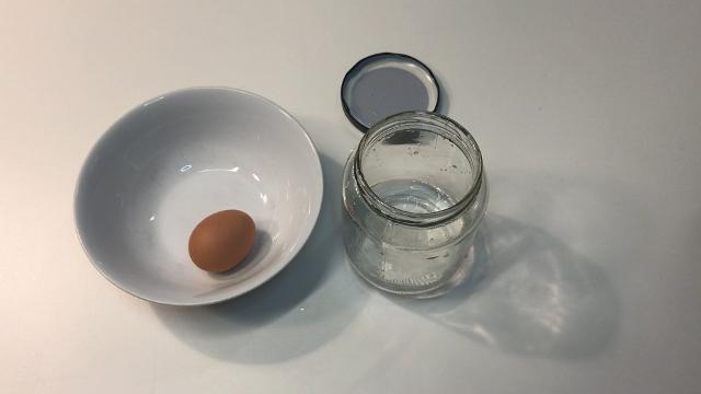 The egg peeling hack that makes smooth eggs every time