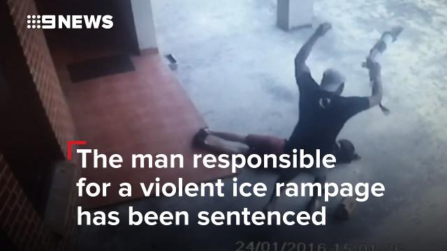 Sydney man jailed over random assaults of strangers during ice-fuelled rampage