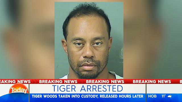 Woods arrested for DUI