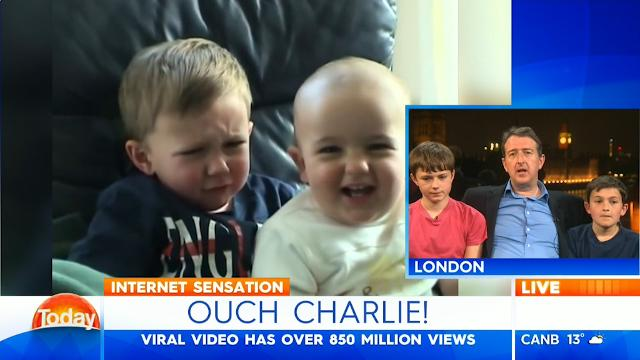 Viral 'Charlie bit my finger ' kids appear on TODAY