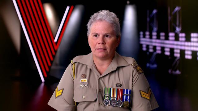 Australian veteran and The Voice contestant defends war record