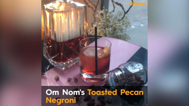 Melbourne bar's Toasted Pecan Negroni