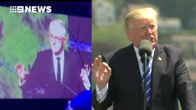 Malcolm Turnbull impersonates Donald Trump in leaked audio
