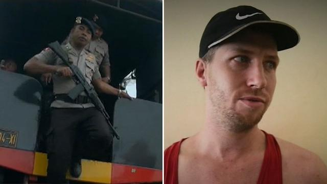 Balinese police step up search for Aussie prisoner Shaun Davidson