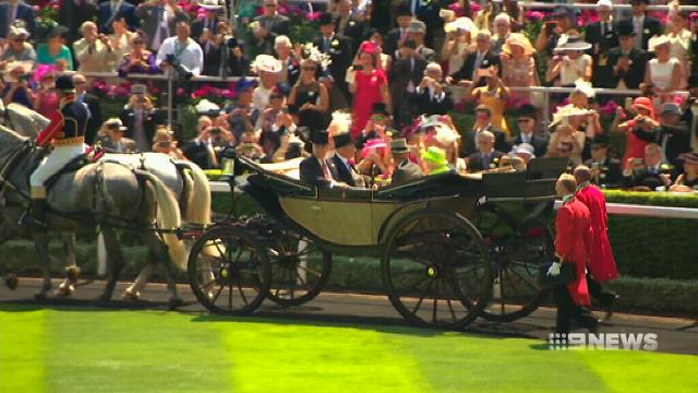 Aussie jockey rides at Britain's Royal Ascot