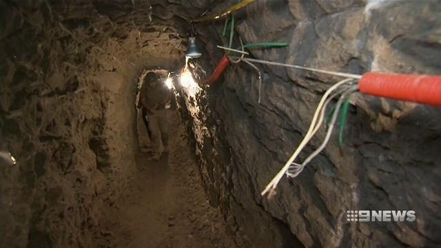 US turns focus to drug tunnels