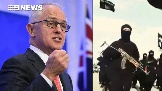 VIDEO: Malcolm Turnbull pushes for greater measures to stop online extremism