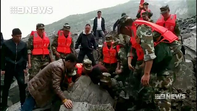 Grave fears after deadly Chinese landslide