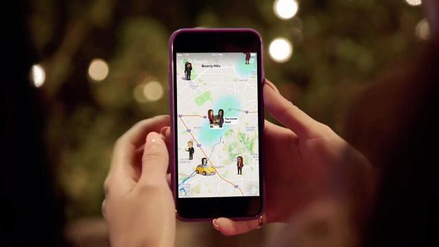 New feature in popular app Snapchat could be a stalkers dream