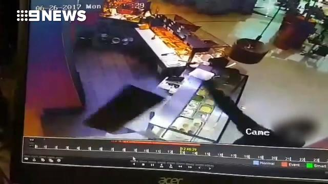 Man goes on rampage in shopping centre