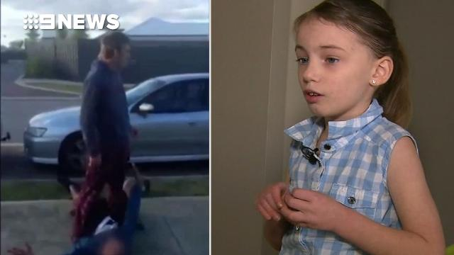 Brickie pounces on alleged thief after girl finds him in their home
